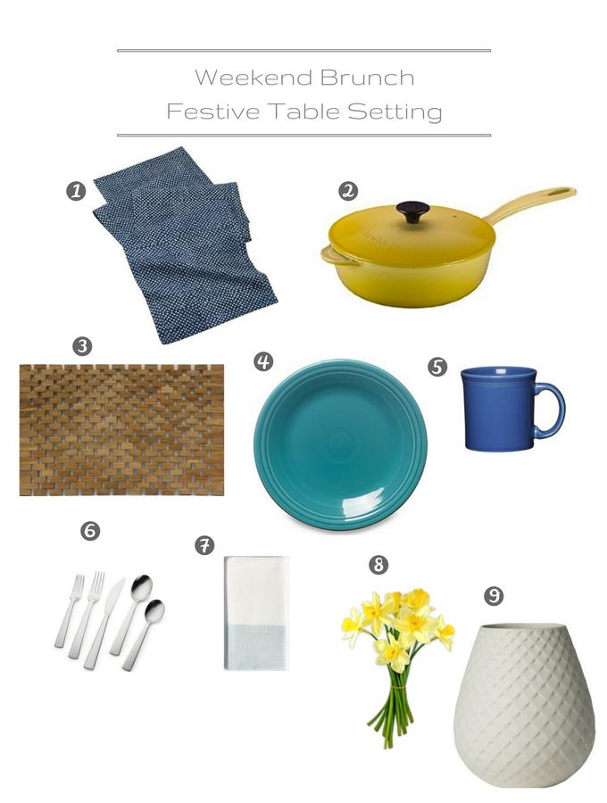 Table Setting - Festive Brunch